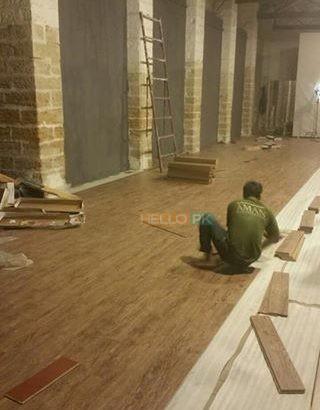 Wood Flooring, Vinyl Flooring