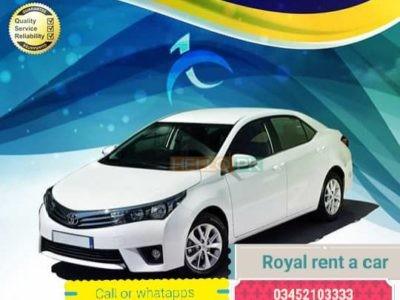 Royal rent a car service in karachi Rs3,000