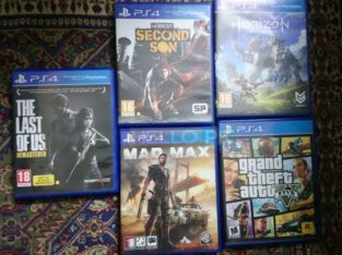 Ps4 Games For Exchange Rs12,345