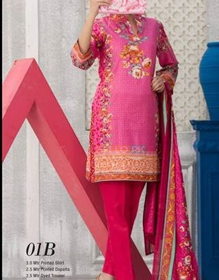 Printed lawn VS Classic Lawn 2018 Vol-1