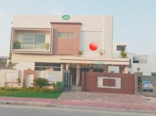1 kanal corner Brand new house for sale Bahria town Lahore