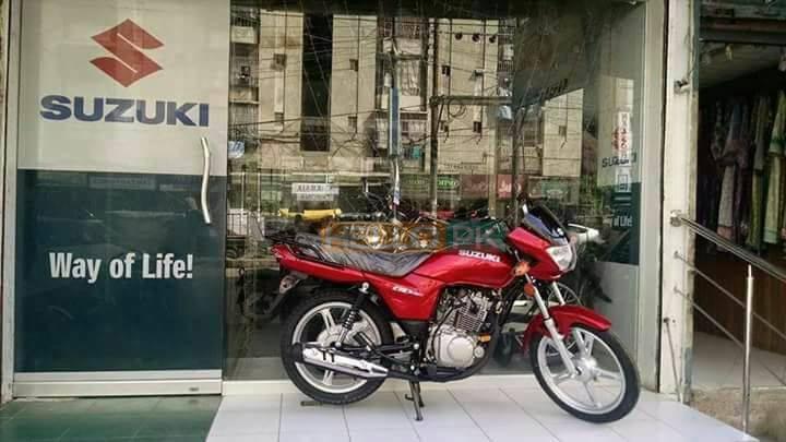 Bikes of suzuki , Karachi