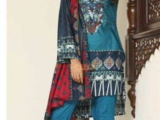 Original SAHIL Vol 3 printed lawn suit , Karachi