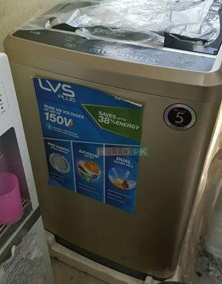 Automatic washing machine hasil Karen easy installment par
