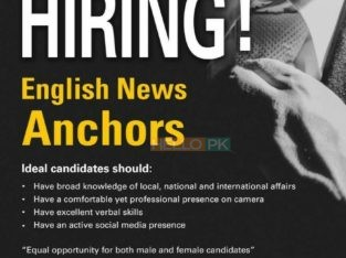 English news Anchors Wanted (Express news)