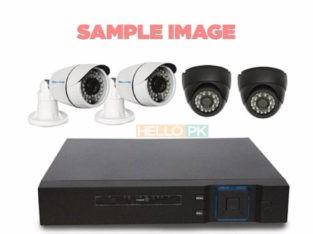 4 Cameras AHD, 4CH DVR 2MPixel 200Rft Wiring/Installation