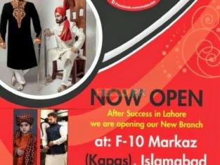 DULHA'S |Sherwanis, waist-coats, Shalwar suits and Shahbalas variety