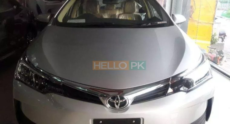 Toyota Gli new shape 2018 bank leased for 5 years