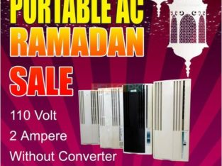 Portable AC Ramadan bumper offer