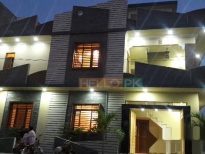 120 SQ YARD CORNER DOUBLE STOREY VIP HOUSE IN SAADI TOWN