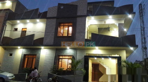 120 SQ YARD CORNER DOUBLE STOREY VIP HOUSE IN SAADI TOWN