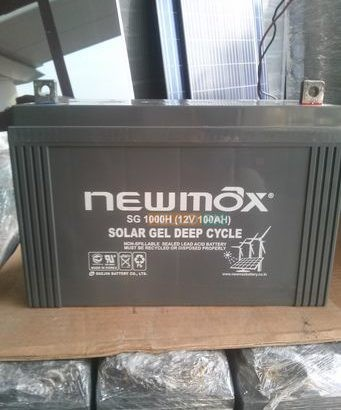 Solar Gel Dry Cell Battery 12v 100ah made in Korea upto 10 year life