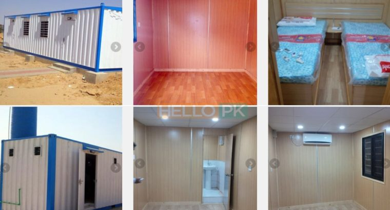 PORTABLE CABINS: are now available in pak
