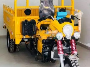 Classic Motorcycle Loader 200 cc with Automatic Hydraulic cabin lifter jack