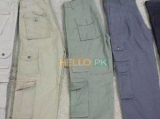 8 pocket pant for Men's cargo wholesale buyer only