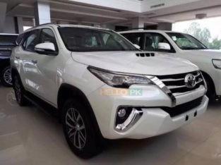 Toyota Fortuner diesel 4×4 push start zero meter showroom delivery