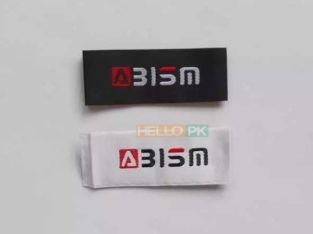 Manufacturers of Custom Woven Clothing high quality Labels For Sell