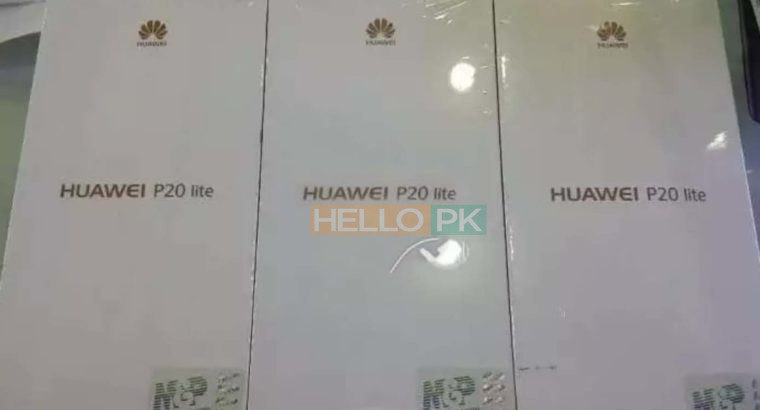 Huawei P20 Lite Brand New Packed with Official Warranty