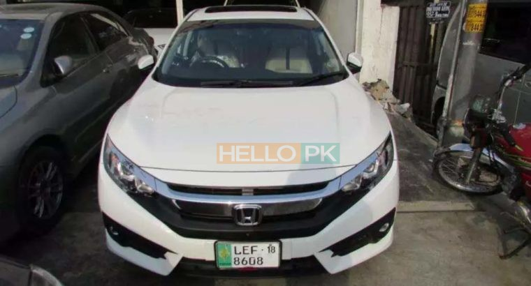 Honda Civic 2018 Auto for Sale.Civic VTi Oriel 2018 Used ,1,500 km