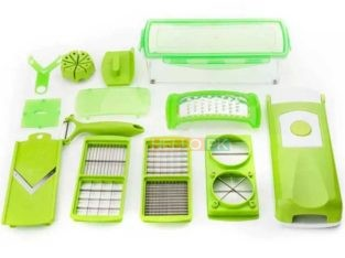 Premium Quality 12 Pcs Multi functional Shredder Fruit Vegetable Peeler | Salad Maker