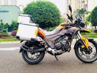Heavy Bike Sigma RX3S 400CC.Double cylinder, Water cool, 4 stroke ,40 HP