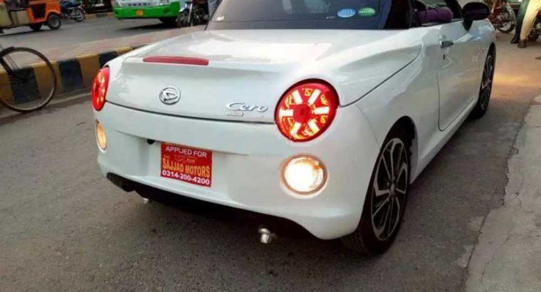 "Copen Cero""Daihatsu Sports Tiptronic New Shape Top Convertible.Model 2016.Fresh Import 2018"