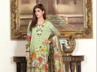 Moon Textile Malhar 3 Piece Embroidered Lawn Suits Collection 2108 MG03B Three Piece Embroidered Lawn