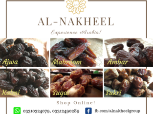 Order fresh Arabian Dates now,right at your doorstep.Al-nakheel