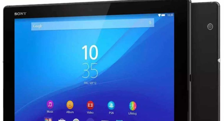 Box pack Sony Xperia Z4 Tablet 3gb 32gb New Box Pack Free Delivery in Karachi.Rs 15,799