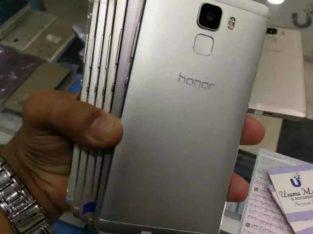 Fresh Stock Huawei Honor7 64gb 3gb ram duel sim 4glte RS 13,999