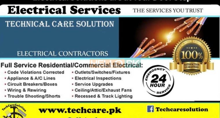 We offer a premium electrical service in Karachi.Electrician Services Providers.