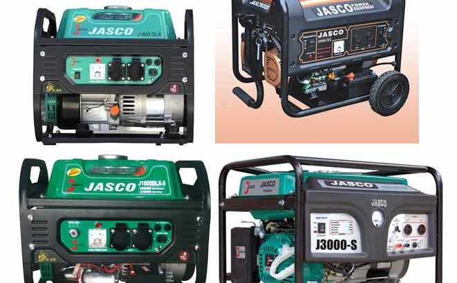 JASCO Generator New Engine available in 1kw Rs 13200/, 2.5kw Rs 18500/,5kw Rs 39500