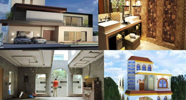 Maps Approval.Exterior,Interior Construction,Renovation,Labour Services