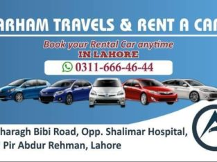 Travel & Car Rental Services.We Provide You a Safe And Best Journey By Arham Travles