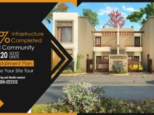 Ali ze Garden 200 & 120 Yards one unit Super Luxury bungalows.Your Dreams Comes True