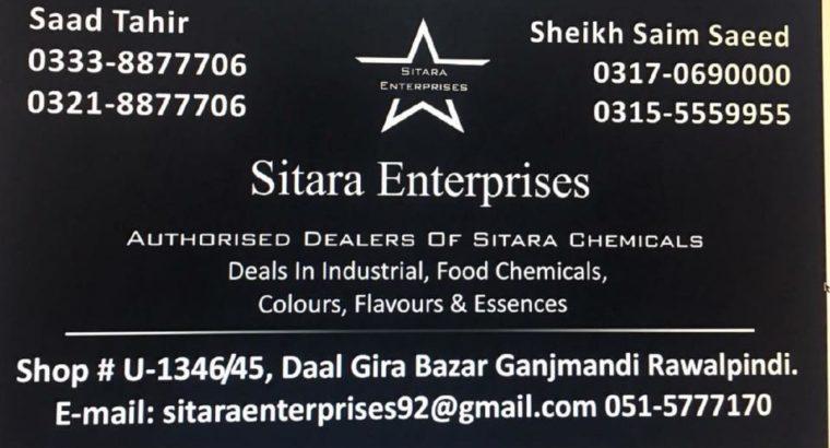Industrial,Food Chemicals,Colour,Flavours & Essences.Authorised Dealer