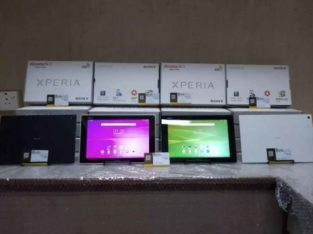 Box pack Sony Xperia Z2 Tablet 3gb ram 32gb storage calling sim.FREE DELIVERY FOR KARACHI