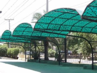 Deal in all kinds of Fibre glass shed with structure at very Economical Rates