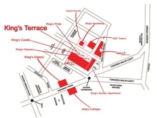 BOOKING OPEN IN KING TERRACE 3,4 & 5 Rooms Apartment On Installments