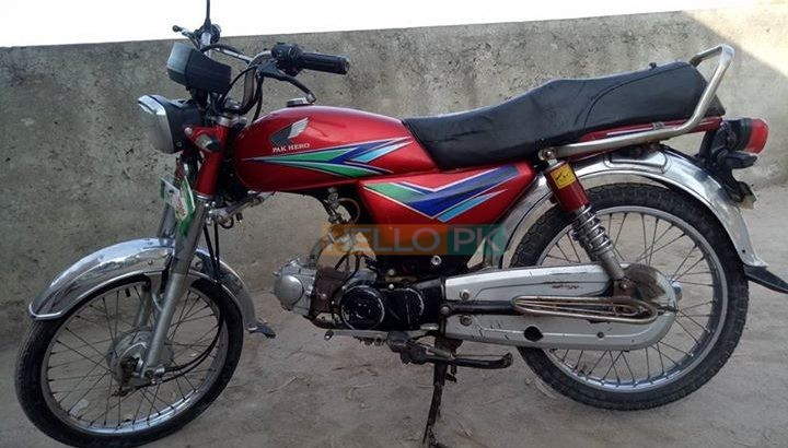 PAK Hero 70cc Rawalpindi REG. Awesome condition Rs27,000