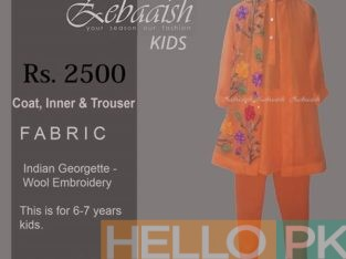 Zebaaish Kids! New Arrival
