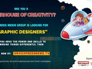 Graphic designer jobs for Express news