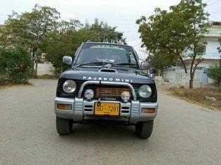 Show Room condition Mini Pajero 1100 cc Karachi