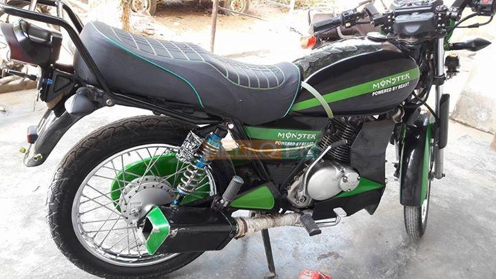 Modefied suzuki 150 ,orignal saman , Karachi