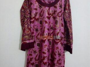 Stitched kurtiz