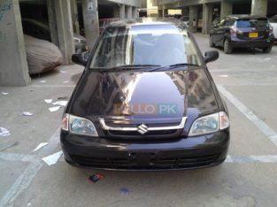 Suzuki Cultus EFi VXRi Original Black Color Model Nov 2007