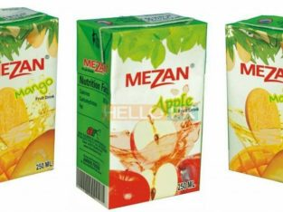 Distributor required.Mezan juices Tetra Pack.