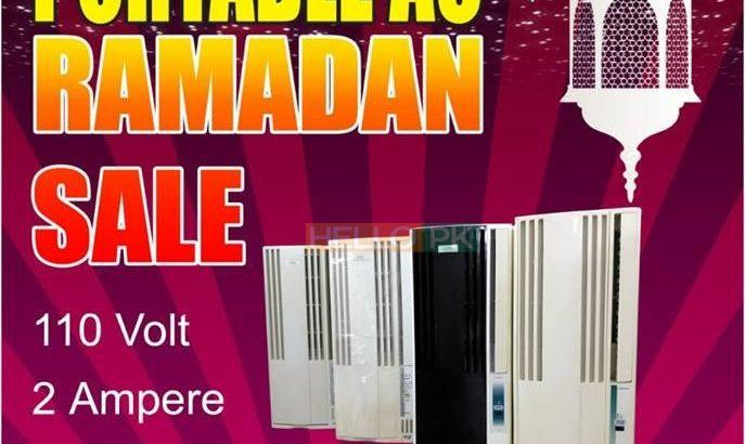 Portable AC Ramadan bumper offer