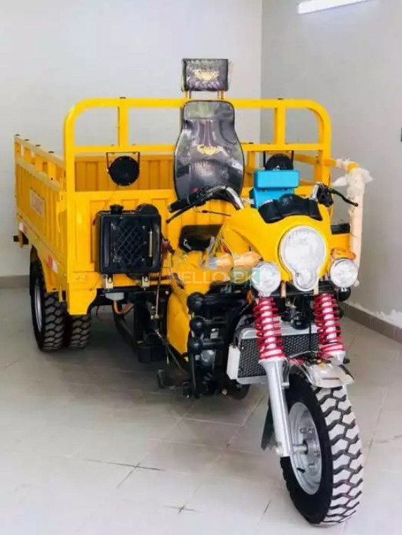 Classic Motorcycle Loader 200 Cc With Automatic Hydraulic Cabin