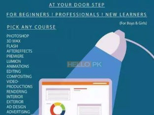Learn Photoshop,Premiere, Flash,Lumion, 3D Max,Animations